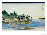 36 Views of Mount Fuji  no 27: Enoshima in the Sagami Province