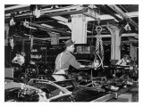 Highland Park Chassis Assembly Line  1947