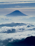 Mt Fuji Over the Clouds