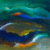 Ocean Dance II Reproduction d'art par Lanie Loreth