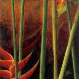 Heliconias en Naranja I