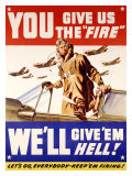 WWII  US Air Corps  Give Us the Fire