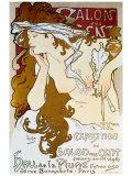 Salon des Cents Giclée par Alphonse Mucha