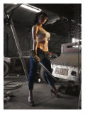 Garage Pin-Up Girl