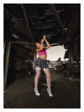 Garage Pin-Up Girl