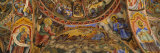 Fresco on the Ceiling of a Monastery  Rila Monastery  Bulgaria