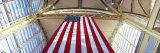 American Flag  Ronald Reagan Washington National Airport  Washington DC  USA