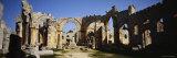 Old Ruins of St Simeon Church  Aleppo  Syria