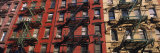 Fire Escapes on Buildings  Little Italy  Manhattan  New York City  New York  USA