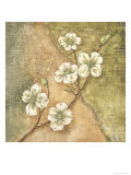 Burlap Dogwood Blossom