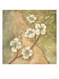 Burlap Dogwood Blossom