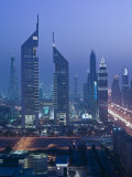 Emirates Towers  Sheik Zayed Road Area  Dubai  United Arab Emirates