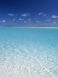 Aitutaki Lagoon  Aitutaki  Polynesia  South Pacific  Cook Islands