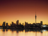 Skyline of Auckland  North Island  New Zealand