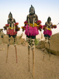 Masked Ceremonial Dogon Dancers  Sangha  Dogon Country  Mali