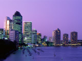 City Skyline  Brisbane  Queensland  Australia