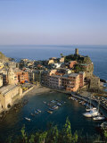 Cinque Terre  Coastal View and Village  Vernazza  Liguria  Italy