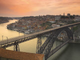 River Douro and Dom Luis I Bridge  Porto  Portugal