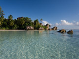 Anse Source d&#39;Argent Beach  La Digue Island  Seychelles