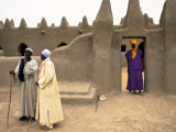 Mosque at Sennissa  Nr Djenne  Mali