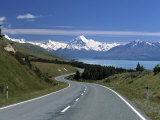 Mt Cook  Southern Alps  South Island  New Zealand