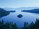 Lake Tahoe  Emerald Bay  Dawn   Tahoe  California  USA
