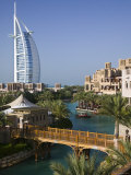 Burj Al Arab Hotel from the Madinat Jumeirah Complex  Dubai  United Arab Emirates