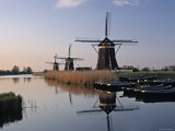 Windmills at Leidschendam  Holland