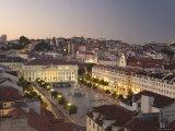 Praca Do Pedro Iv Square  Lisbon  Portugal