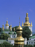 Church Towers  Kyiv-Pechersk Lavra  Kiev  Ukraine