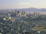 Pasig City Business Area Skyline  Manila  Philippines
