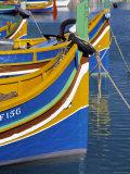 Fishing Boats  Marsaxlokk  Malta