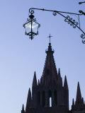 Parroquia de San Miguel Archangel Church  San Miguel de Allende  Guanajuato State  Mexico