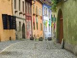 Medieval Old Town  Sighisoara  Transylvania  Romania