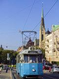 Tram  Stockholm  Sweden