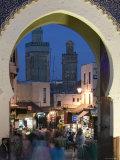 Bab Bou Jeloud Gate  Fes El-Bali  Fes  Morocco