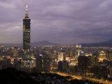 Taipei 101 Skyscraper  Taipei  Taiwan