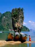 Phangnga Bay  James Bond Island  Phuket  Thailand