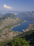 Kotor  Bay of Kotorska  Adriatic Coast  Montenegro