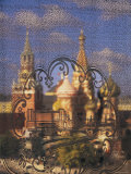 St Basil&#39;s Catherdal  Red Square  Moscow  Russia