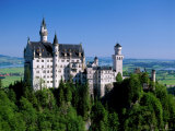 Neuschwanstein Castle  Bavaria  Germany