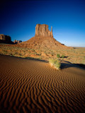 Monument Valley and Sand Dunes  Arizona  USA