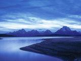 Jackson Lake  Grand Teton National Park  Wyoming  USA