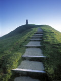 Glastonbury Tor  Somerset  England
