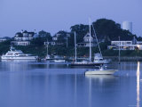 Inner Harbour  Edgar Town  Martha's Vineyard  Massachusetts  USA