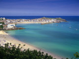 Porthminster Beach  St Ives  Cornwal  England