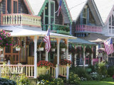 Gingerbread House  Oak Bluffs  Martha's Vineyard  Massachusetts  USA