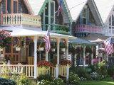Gingerbread House  Oak Bluffs  Martha's Vineyard  Massachusetts  USA
