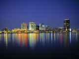 Norfolk Skyline  Virginia  USA