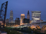 Detroit Avenue Bridge  Cleveland  Ohio  USA